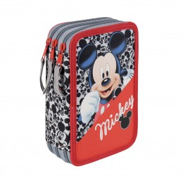 Mickey Mouse Plumier Triple