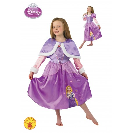 Disfraz Niña Rapunzel Winter Talla S