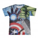 Avengers Camiseta Malla M/C  T- 6 Años