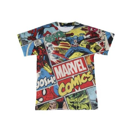 Avengers Marvel Camiseta Malla M/C T-6 A