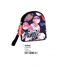 Minnie Art Monedero Oval