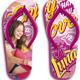 Soy Luna Chancla Playera