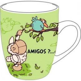 Taza Porcelana Amigos?...
