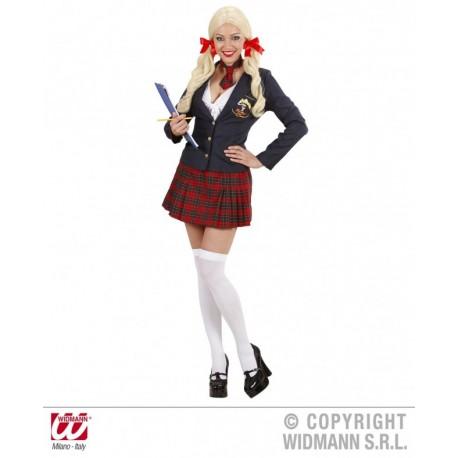 Disfraz Chica College Girl- Talla S