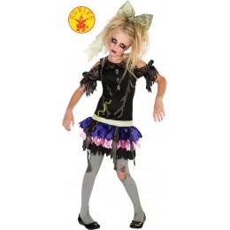 Disfraz Niña Zombie Doll Talla M