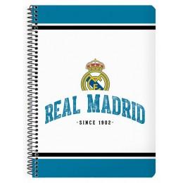 Real Madrid Libreta Cuarto 80 Hojas