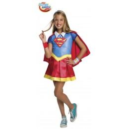 Disfraz Niña SuperGirl Deluxe Talla S