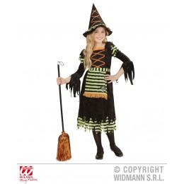 Disfraz Bruja - Vestido y Sombrero