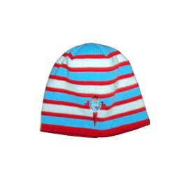 Real Club Celta Gorro Rayas Niño