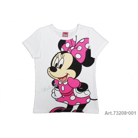 Minnie Mouse Camiseta M/C Marino T-6