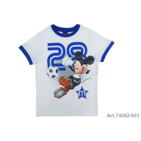 Mickey Mouse Camiseta M/C Gris/Marino T8