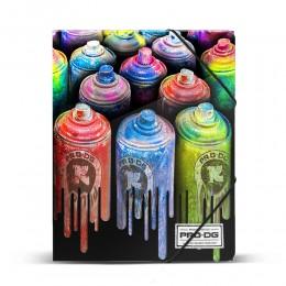 Pro-Dg Carpeta Gomas Colors