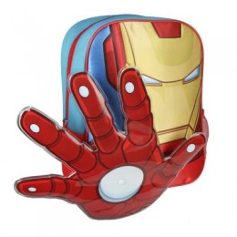 Iron Man Mochila Guarderia en Relieve