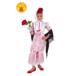 Disfraz Chulapa Niña Infantil Talla-S
