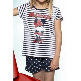 Minnie Pijama Verano Rayas T-12