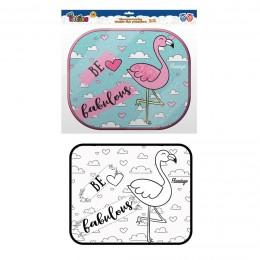 Parasol de Coche Flamingos 2 Udad.