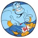 Aladdin Toalla Redonda Genio