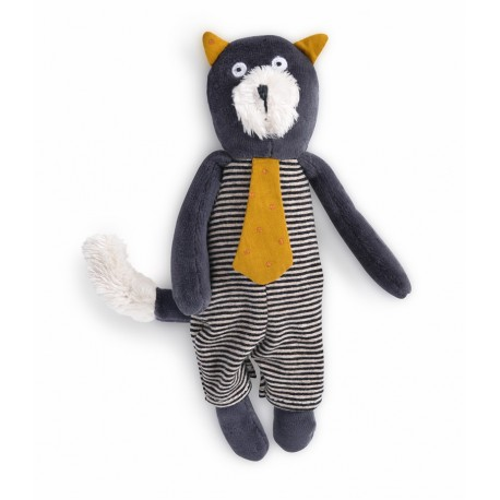 Moulin Roty Peluche Gato Gris