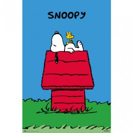 Snoopy Maxi Poster Doghouse
