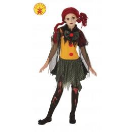 Disfraz Infantil Zombie Clown T-L
