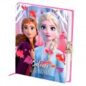 Frozen II Diario con Llave Disney