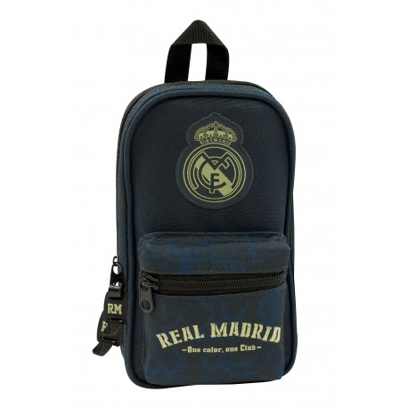 Real Madrid Plumier Mochila vacio 2º Equ
