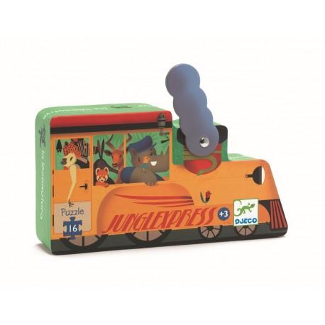 Djeco Puzzle Silueta La Locomotora