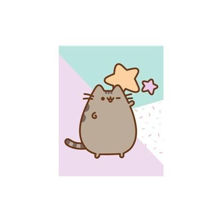 Pusheen Cat cuadro Lona