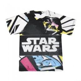 Star Wars Camiseta Malla M/C T- 6 Años