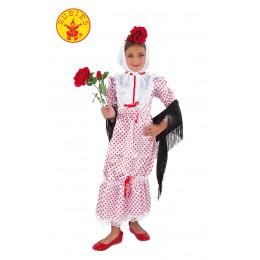 Disfraz Chulapa Infantil NIña Talla-M