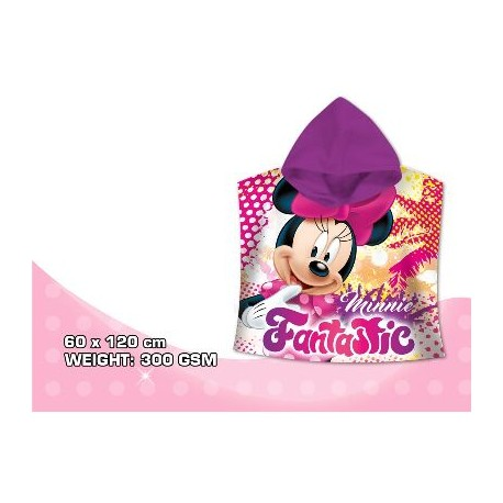 Minnie Mouse Poncho Playa