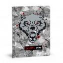 Bestial Wolf Libreta A4 80H Cuadriculada