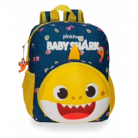 Baby Shark Mochila Infantil 28 Cm.