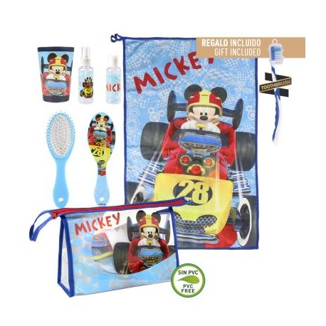 Mickey Roadster Neceser Set Higiene