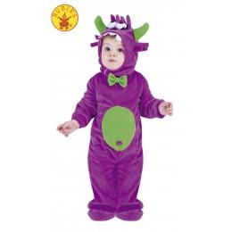 Disfraz Monstrua Lila T1-2 Años