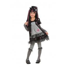 Disfraz Niña Black Dolly Talla M