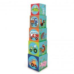 Torre de Cubos Apilable