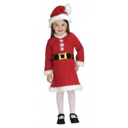 Disfraz Infantil Mamá Noel 1-2 Años