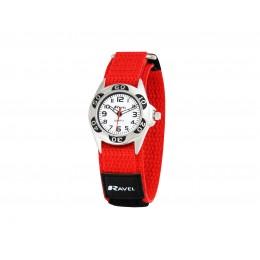 Reloj Infantil Sport Cierre Velcro Rojo