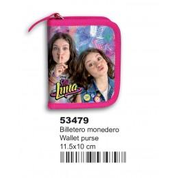 Soy Luna Unique Billetero Monedero