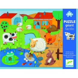 Djeco Puzzle Gigante Texturas