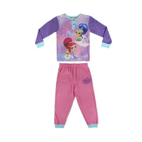 Shimmer & Shine Pijama 2 Pzs Talla 2/3