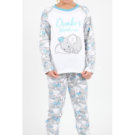 Pijama Chica Dumbo Disney T-8
