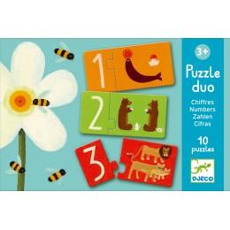 Djeco Puzzle Duo Números