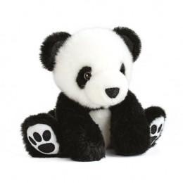 Peluche Oso Panda Negro 17 Cm.