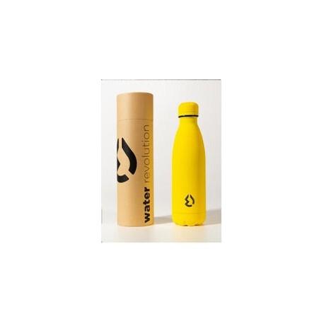 Botella Termica Acero Inoxidable Amarill