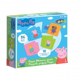 Peppa Pig Juego Cartas de Memoria