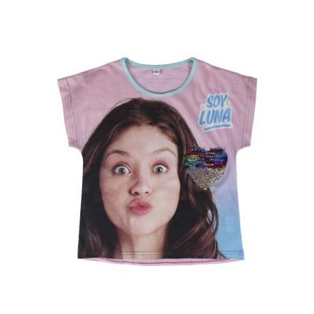 Soy Luna Camiseta M/C T- 10 Años