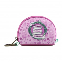 Gorjuss Mini Monedero Neopreno Rosa