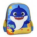 Baby Shark Mochila Infantil 30 Cms.